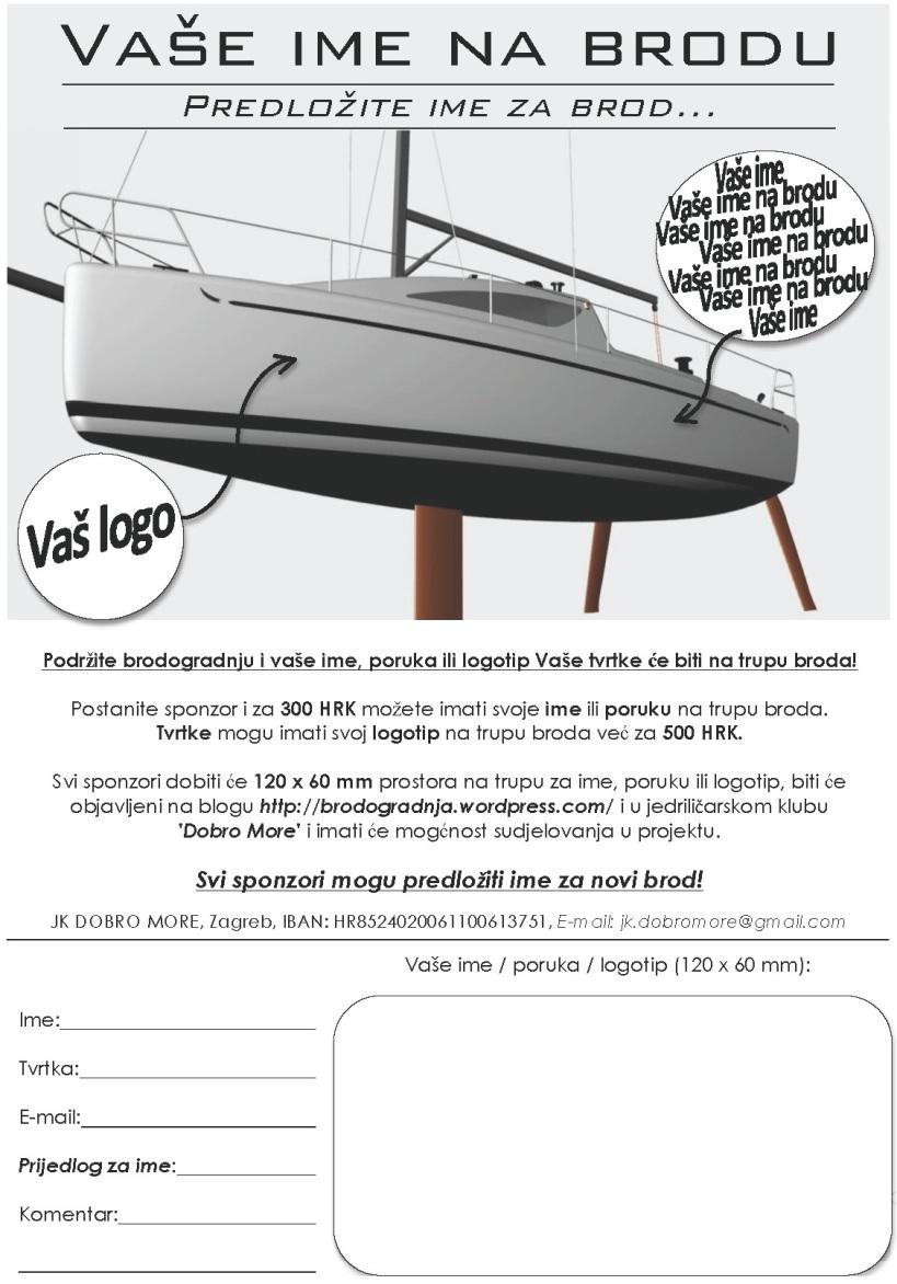 Vasa poruka na brodu