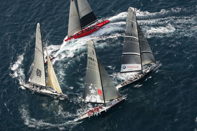 Marseille Louis Vuitton Act 1 Fleet Race 1