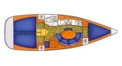 JeanneauSun Odyssey 34.2 Charter Croatia 684
