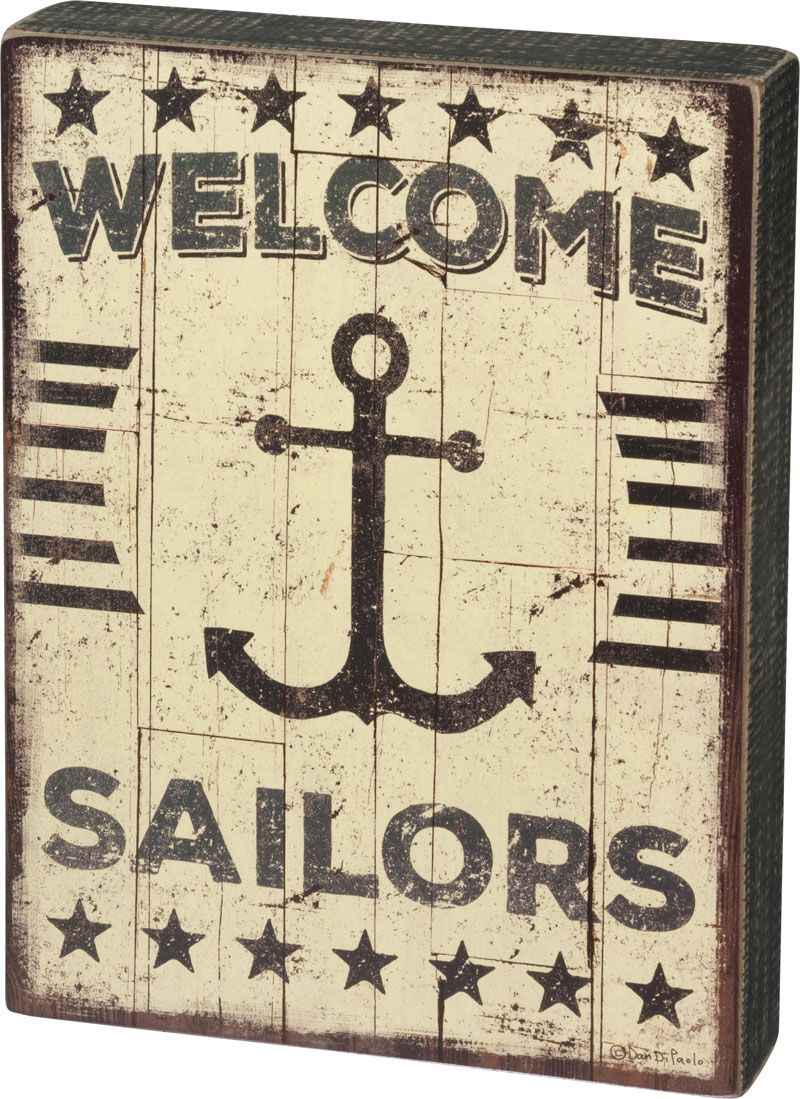 sailors welcome